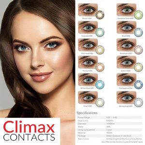Climax Solitica Ocean Vetas Lenses Colored Contact